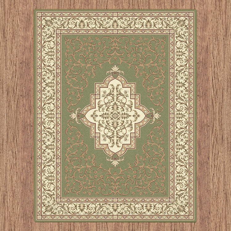Nobel Queen Green Rug