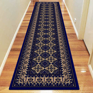 Nobel Proud Dark Blue Rug