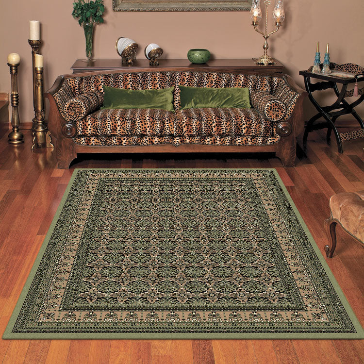 Nobel Proud Green Rug