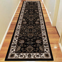 Nobel King Black Rug
