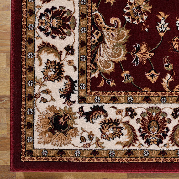 Nobel King Red Runner Rug