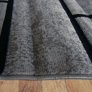 Ruby Twist Grey Rug