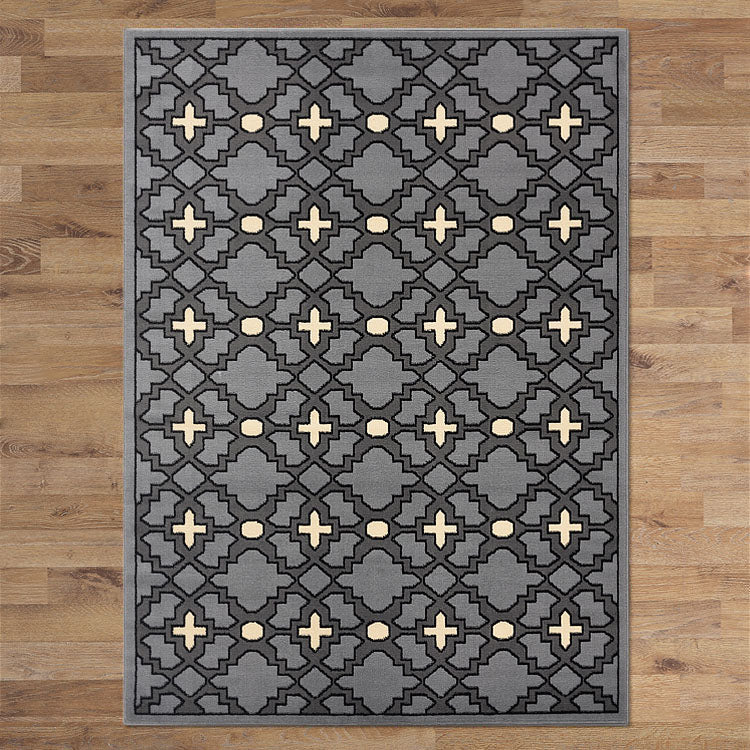Ruby Plus Grey Rug