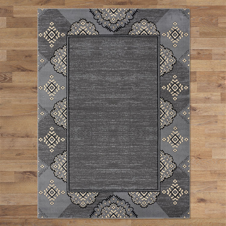 Ruby Star Grey Rug
