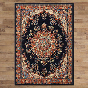 Ruby Honor Navy Rug