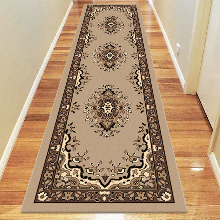 Ruby Zeal Beige Runner Rug