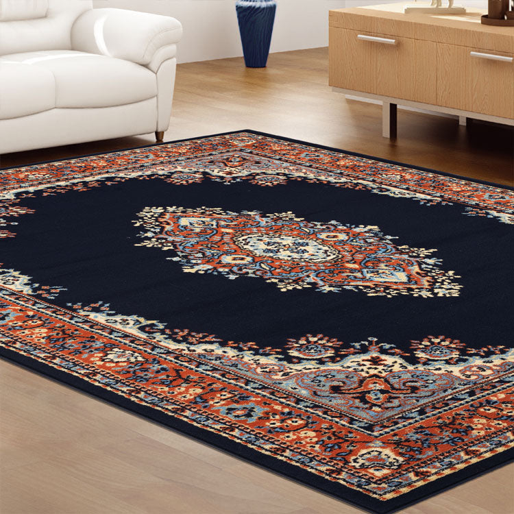 Ruby Zeal Navy Rug