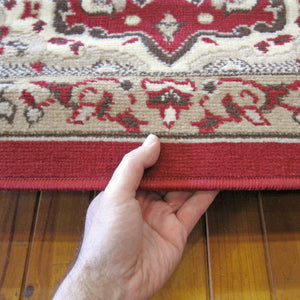 Ruby Zeal Red Rug