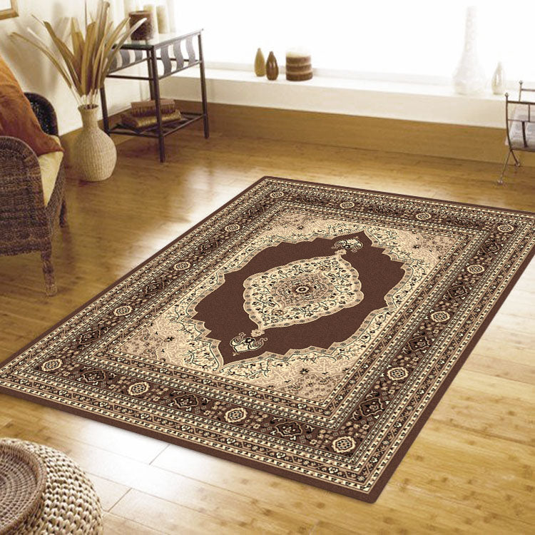 Ruby Mettle Brown Rug