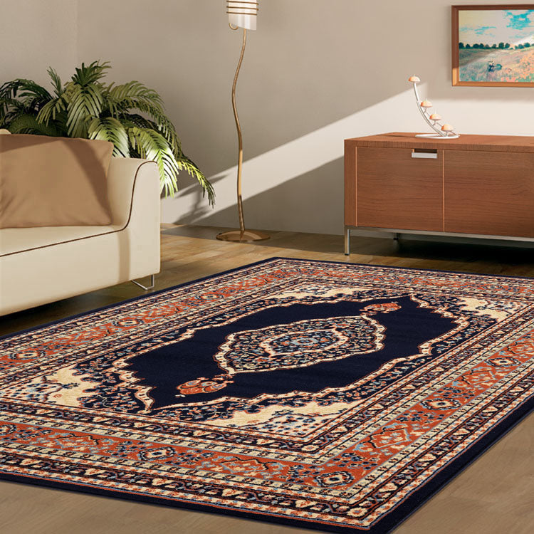 Ruby Mettle Navy Rug
