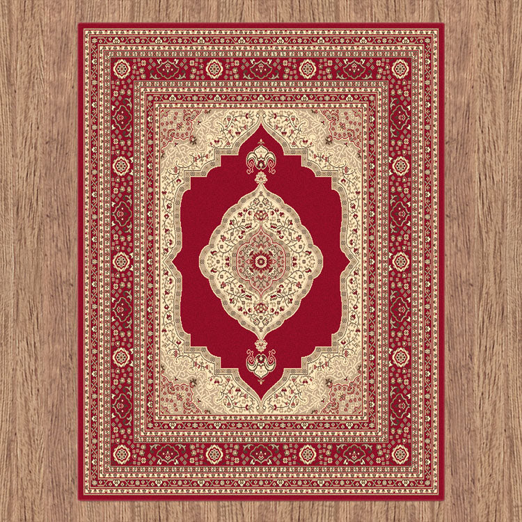 Ruby Mettle Red Rug