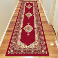 Ruby Mettle Red Runner Rug