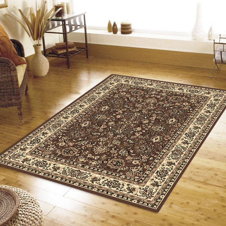 Ruby Fervor Brown Rug