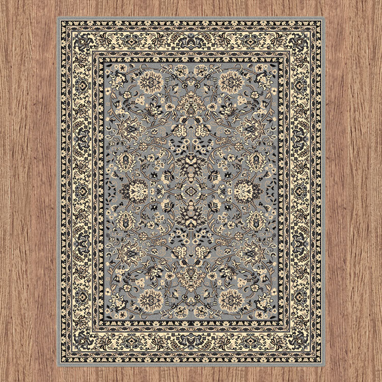 Ruby Fervor Grey Rug