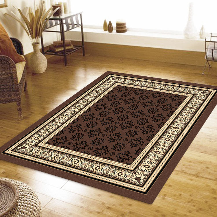 Ruby Craze Brown Rug