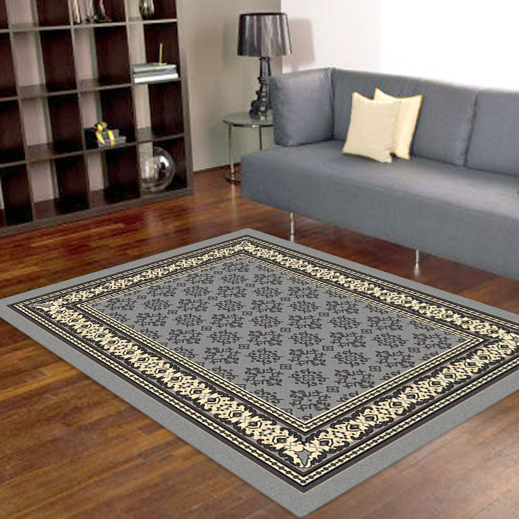 Ruby Craze Grey Rug