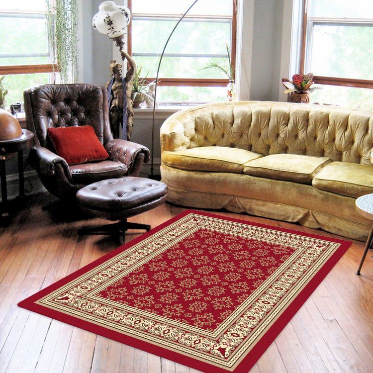 Ruby Craze Red Rug