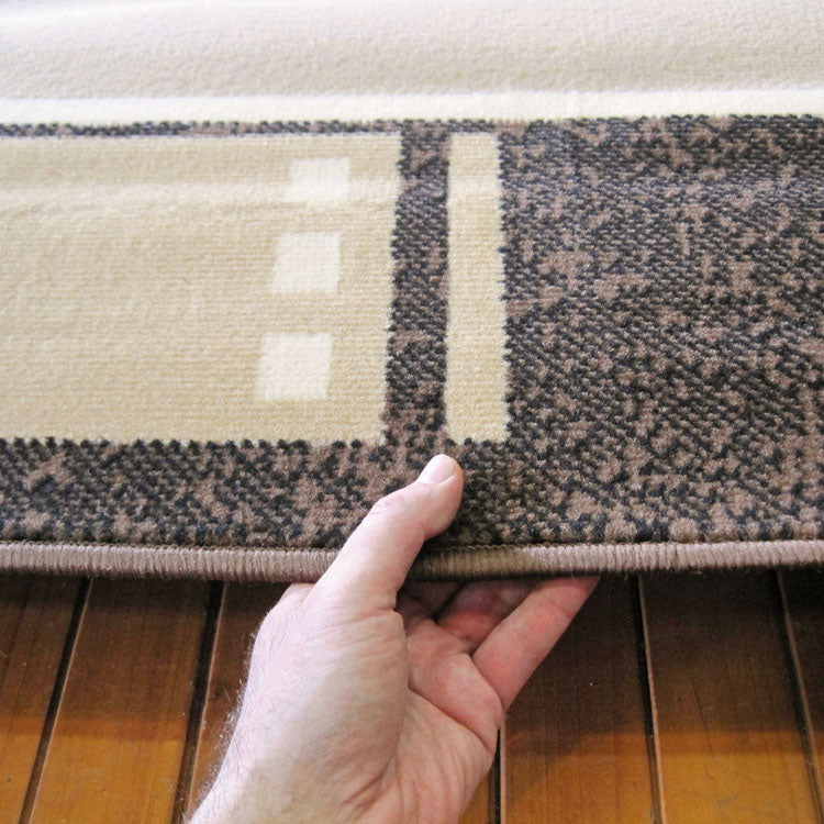 Ruby Delight Beige Runner Rug