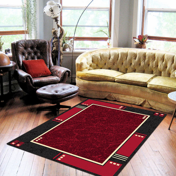 Ruby Delight Red Rug