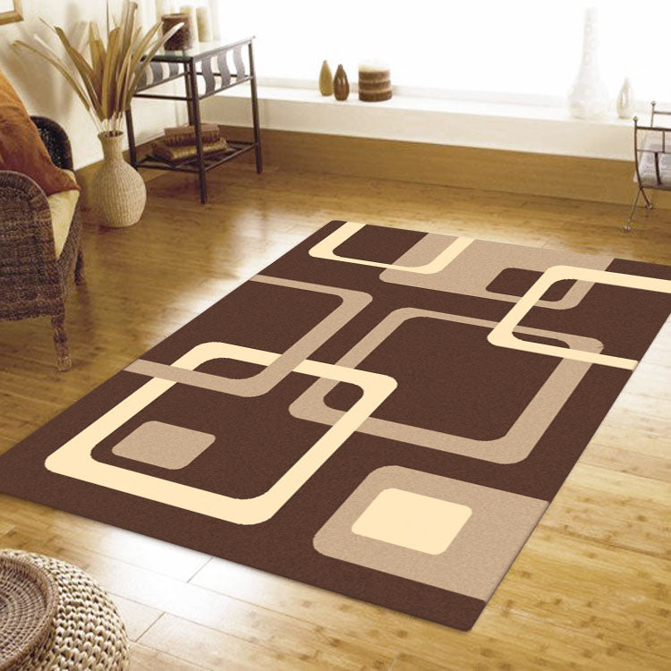 Ruby Swing Brown Rug