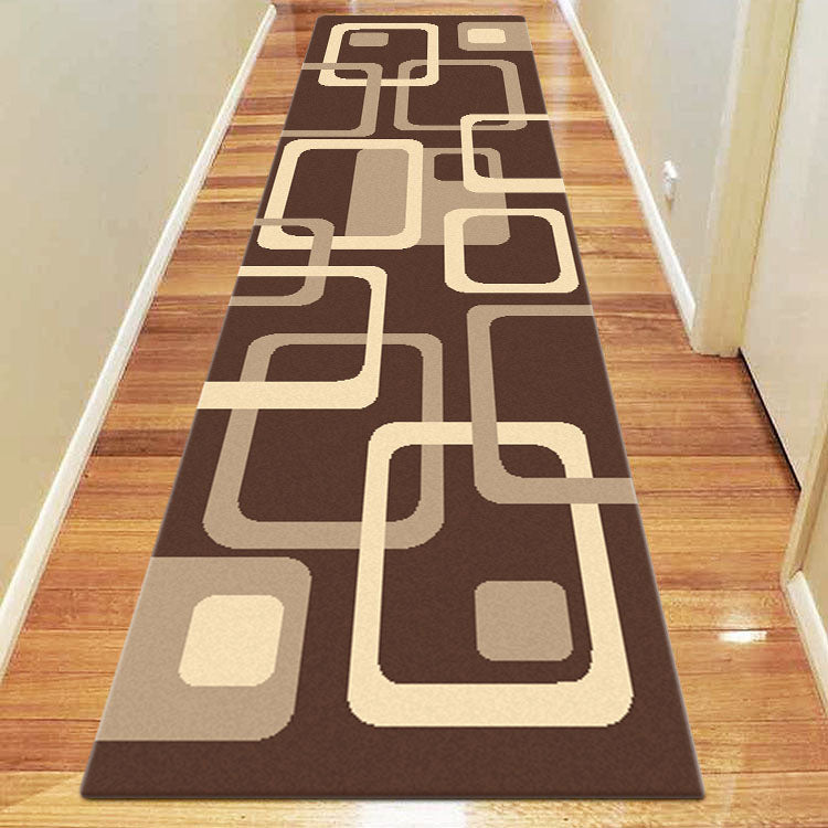 Ruby Swing Brown Runner Rug