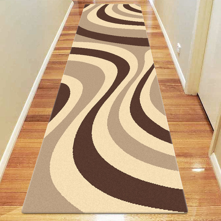 Ruby Shine Beige Runner Rug