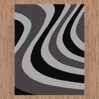 Ruby Shine Grey Rug