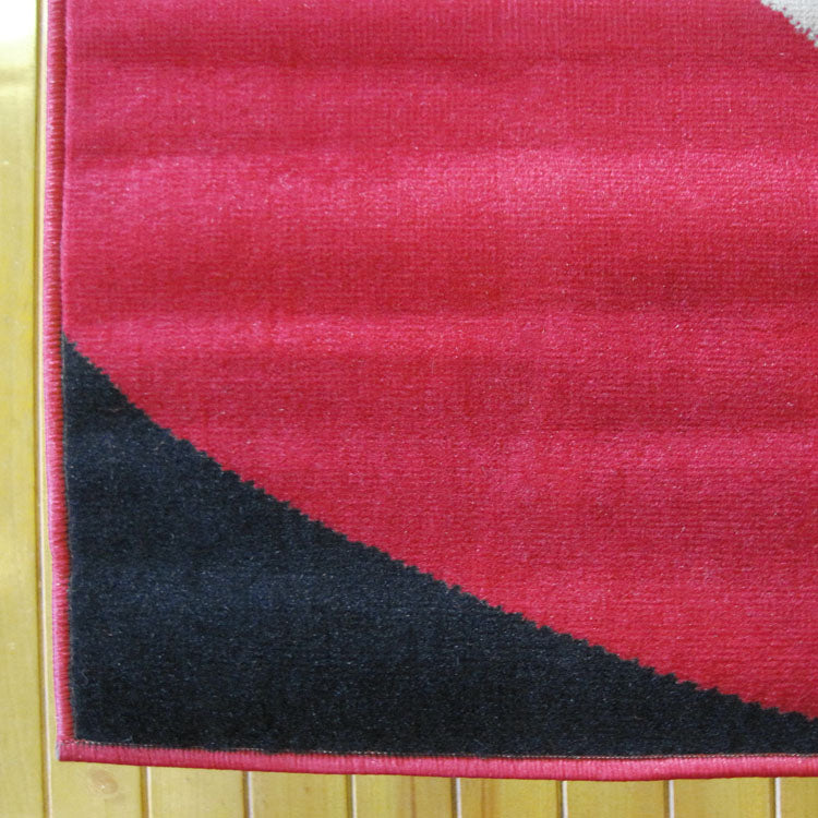 Ruby Shine Red Runner Rug