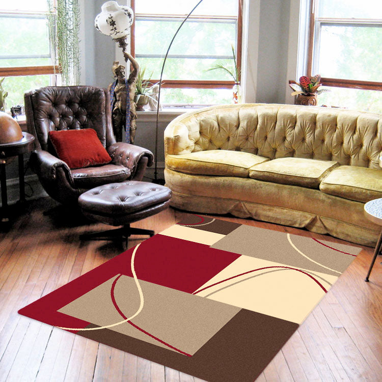 Ruby Gap Red Rug