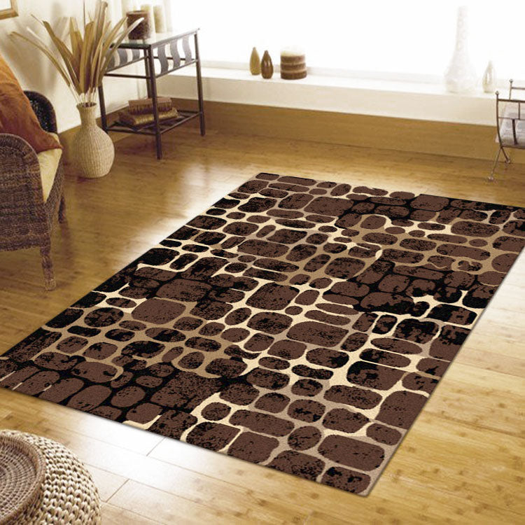 Ruby Garnet Brown Rug