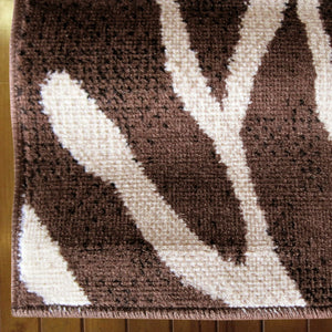Ruby Cherry Brown Rug