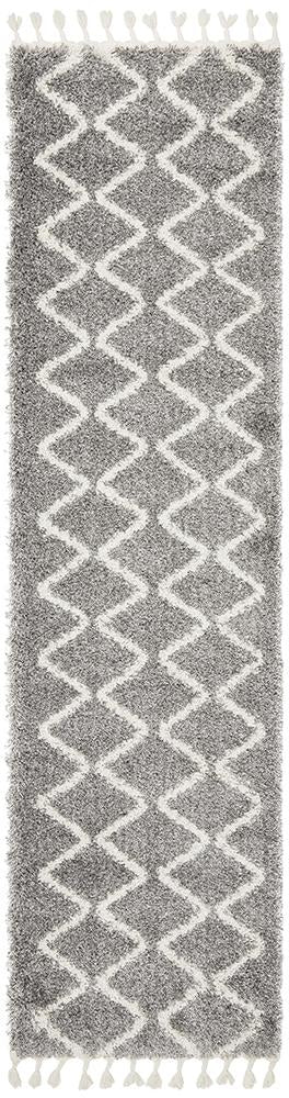 Xanthous Silver Runner Rug