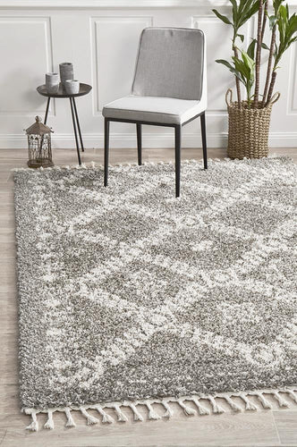 Bisque Grey Rug