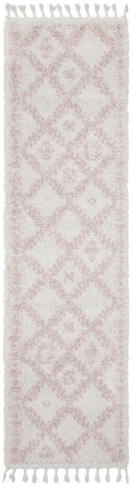 Bisque Pink Runner Rug