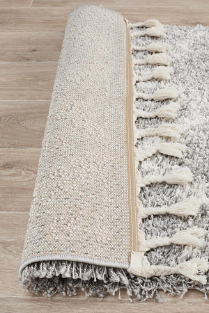 Bisque Silver Runner Rug