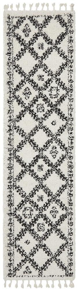 Bisque White Runner Rug