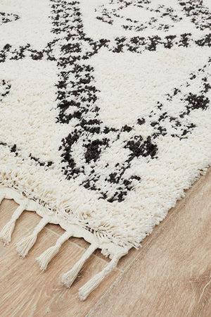 Bisque White Rug
