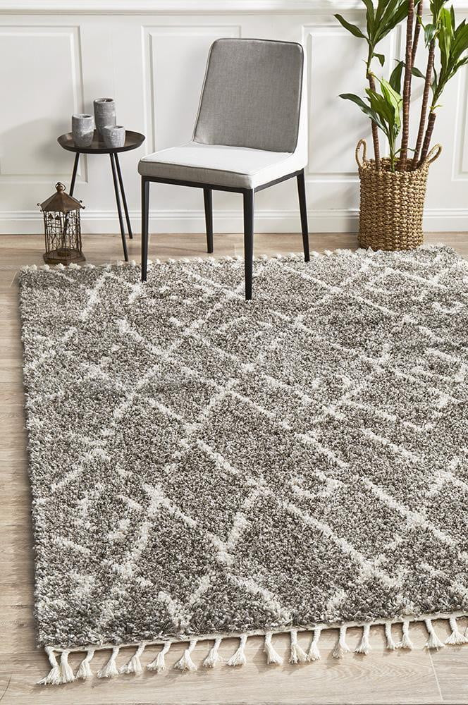 Chrome Grey Rug