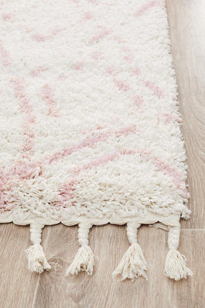 Chrome Pink Runner Rug