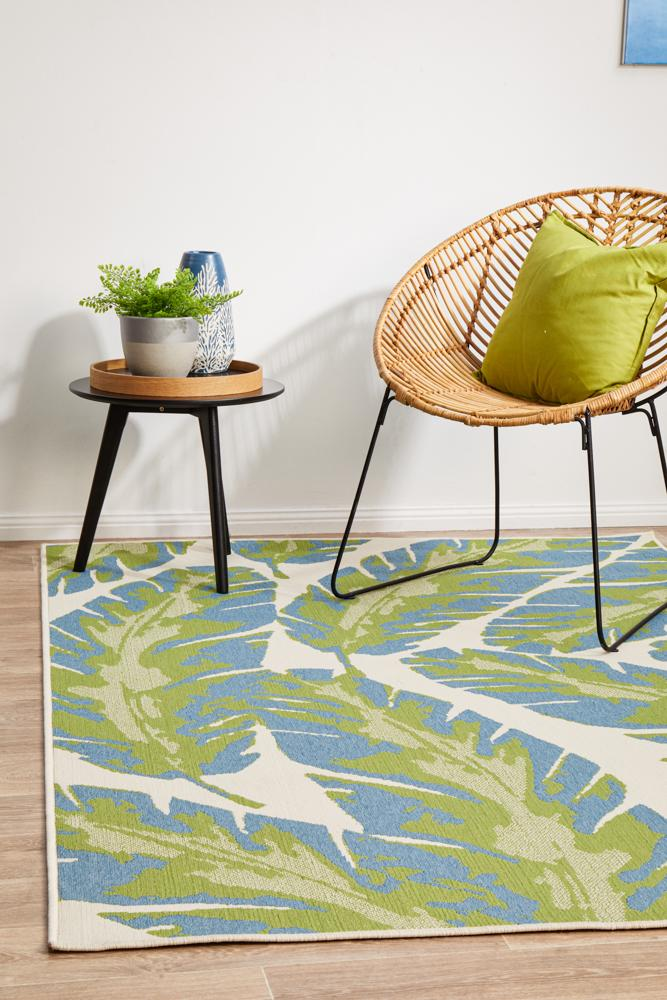 Littoral Cheesy Green Rug