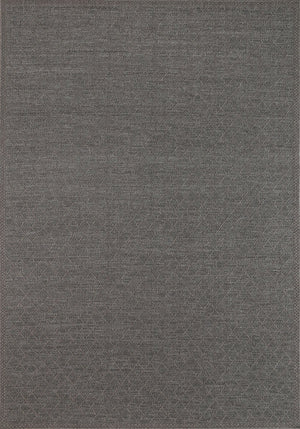 Sydney Courtyard Charcoal Diamond Rug