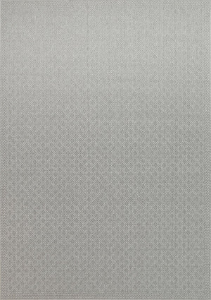 Sydney Courtyard Diamond Light Grey Rug