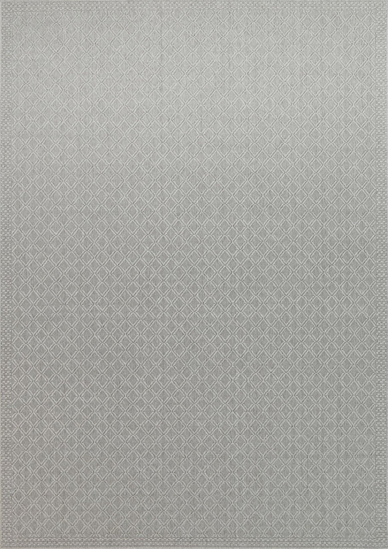 Sydneysider Diamond Light Grey Rug