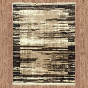 Satin Interactive Brown Rug