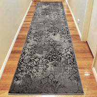 Composure Peace Smoke Runner Rug
