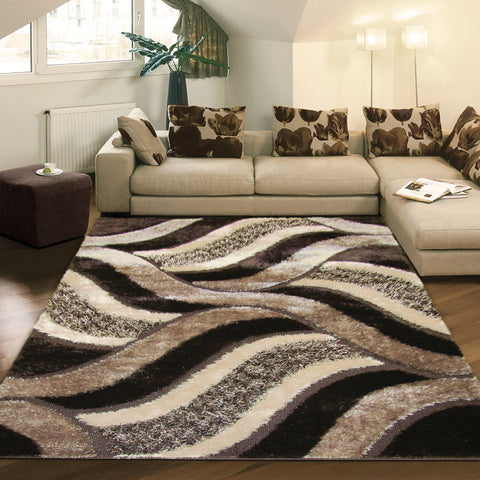Shaggy Luxury Collection 5328 Brown