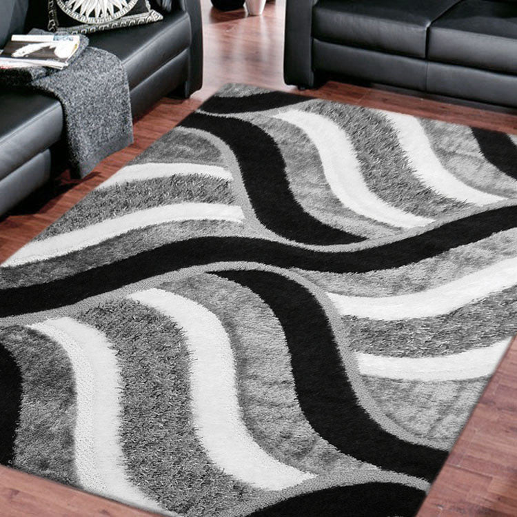Shaggy Shaggy Soft Rug Luxury Grey