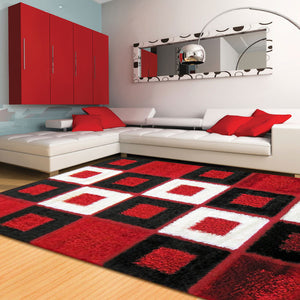 Shaggy Luxury Collection 1206 Red
