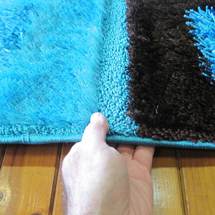 Shaggy Soft Rug Luxury Blue Rug