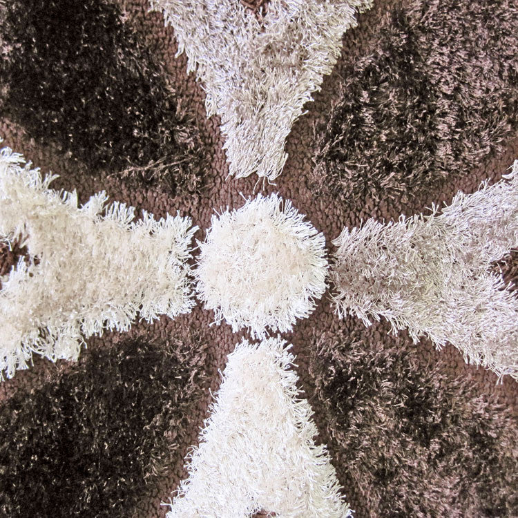 Shaggy Luxury Collection 6048 Brown Rug